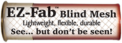 Ez-Fab hunting blind cover-mesh